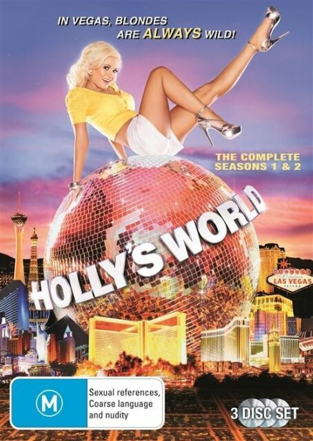 Holly's World : Season 1-2 (DVD, 2012, 3-Disc Set)