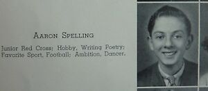 AARON-SPELLING-1939-DALLAS-FOREST-HIGH-SCHOOL-YEARBOOK-Mod-Squad-90210