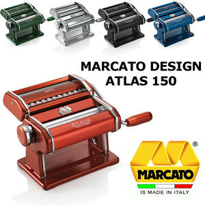 Marcato design atlas 150 macchine macchina per la pasta - Macchine per pasta in casa ...