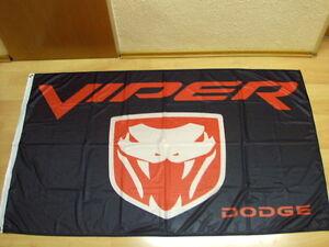 Fahnen-Flagge-Dodge-Viper-90-x-150-cm