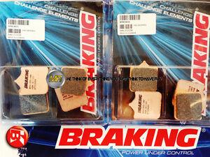 FÜR BIMOTA DB5 MILLE 1000 2005 05 Bremsklötze Bremsbeläge VORNE SINTER BRAKING