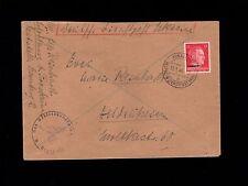 WWII Germany Ukraine Occupation Dienstpost 1944 Area Governor Handstamp Cover 6q