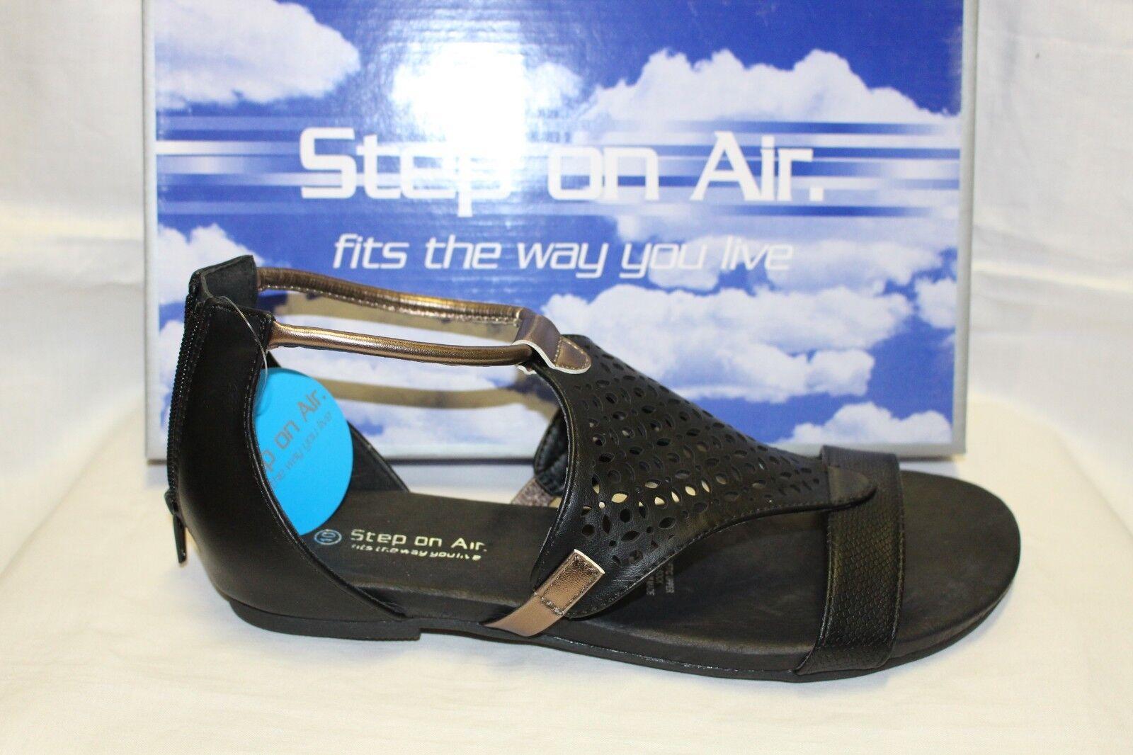 Damas Zapatos Calzado paso en en en el aire Sandalia Alicia Negro  Las ventas en línea ahorran un 70%.