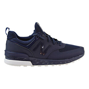 New-Balance-Life-Style-Mens-Shoes-Navy-Blue-White-MS574SNV