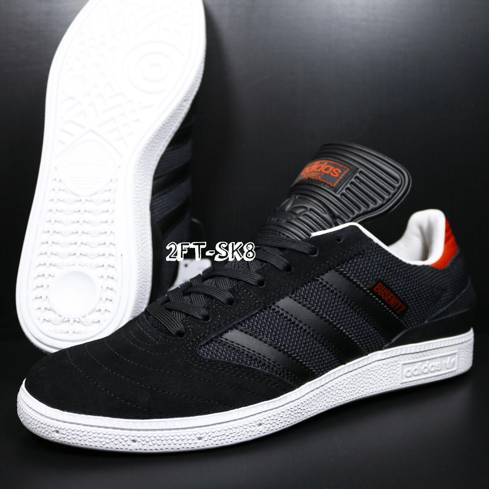 Adidas originals busenitz schwarz - weiß - / rote männer skate schuhe / - s81246.266 e6a43a