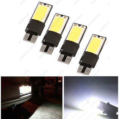 4 X ERROR FREE CANBUS 501 SMD LED SIDELIGHT WHITE BULBS XENON T10 W5W 194 CREE
