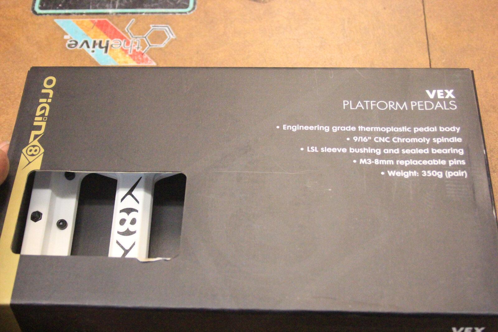 Origin8 Ultim-8 Vex Sealed Bearing Thermoplastic Platform Mountain Bike Pedals