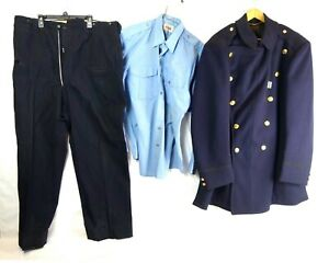 Vintage 1950's Rare Everett Massachusetts Police Uniform Wool Boston