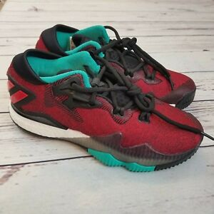 Adidas Big Boys Crazylight Boost Low Basketball Shoes Size 5 ...