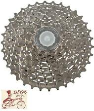 SHIMANO CS-HG400 HYPERGLIDE 9 SPEED---12-36T NICKEL MTB CASSETTE-NO PACKAGE