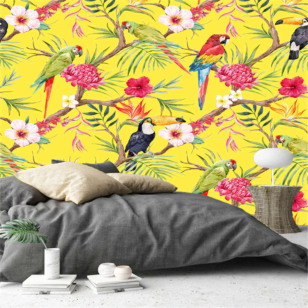 Seven Parrot Trees 3D Full Wall Mural Photo Wallpaper Printing Home Kids Decor