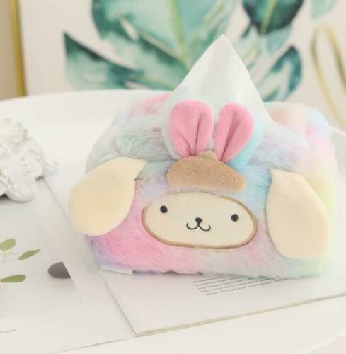 Pom Pom Purin fuzzy plush tissue box cover tissues holder decorate collect cool