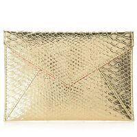 Skinn Cosmetics Limited Edition Holiday Golden Clutch Bag