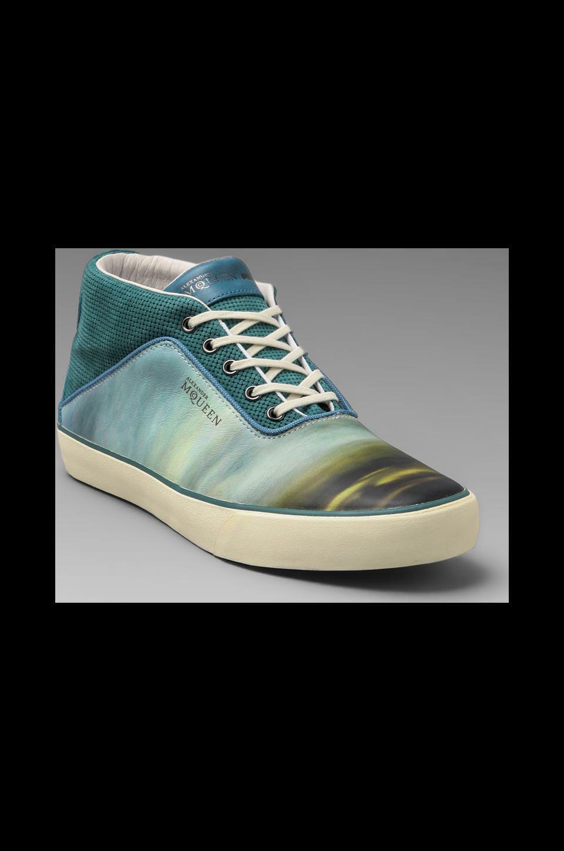 AMQDek Mid II Print scarpe da ginnastica Alexander McQueen Puma Sz Us 9 Sold out