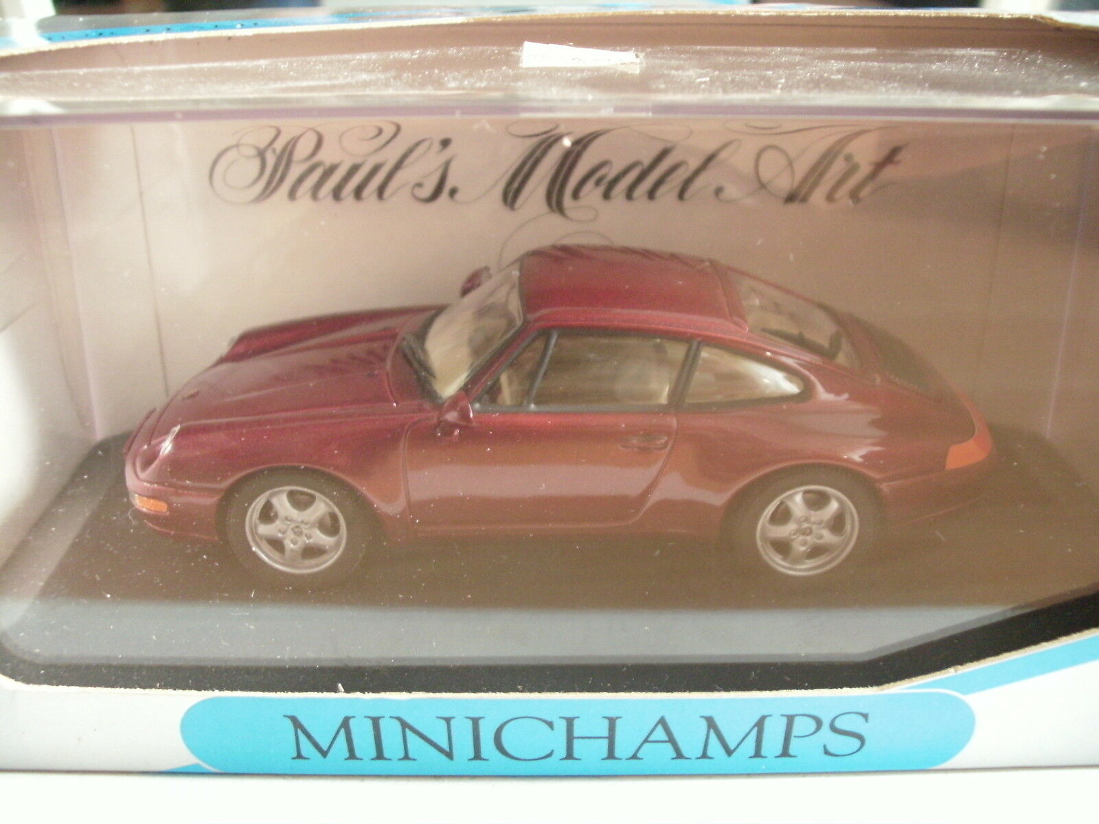 Minichamps Porsche 911 1994 in in in Red Metallic on 1 43 in Box 9c0d8b
