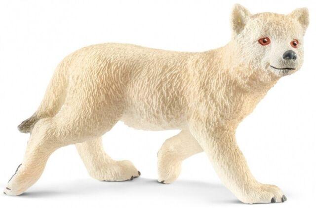 Schleich 14804 Arktisches Wolfsjunges 5,5 cm Series Wild Animals