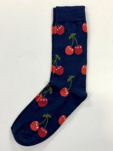 NEW MENS /& LADIES Fruit Design Patterned Quirky Hipster Happy Colours Socks