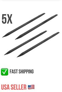 5X-Black-Plastic-Spudger-Set-iPod-iPhone-Cell-phone-Opening-Pry-Bar-Tools