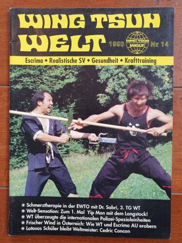 WingTsunWelt 14 Nr Sammlerstück Rarität Wing Tsun Welt EWTO WingTsun