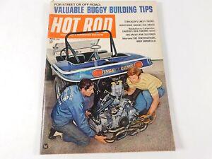 Vintage Original March 1969 Hot Rod Magazine Automotive Custom Car Mods