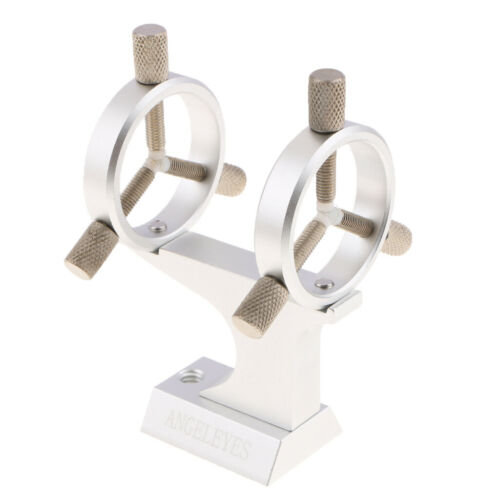 35mm Metal Stand Mount for Laser Pointer a Helper of Astro Telescopes Silver