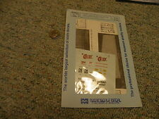Microscale decals N 60-308 Chief Chessie NYC Southern railway vans    L15