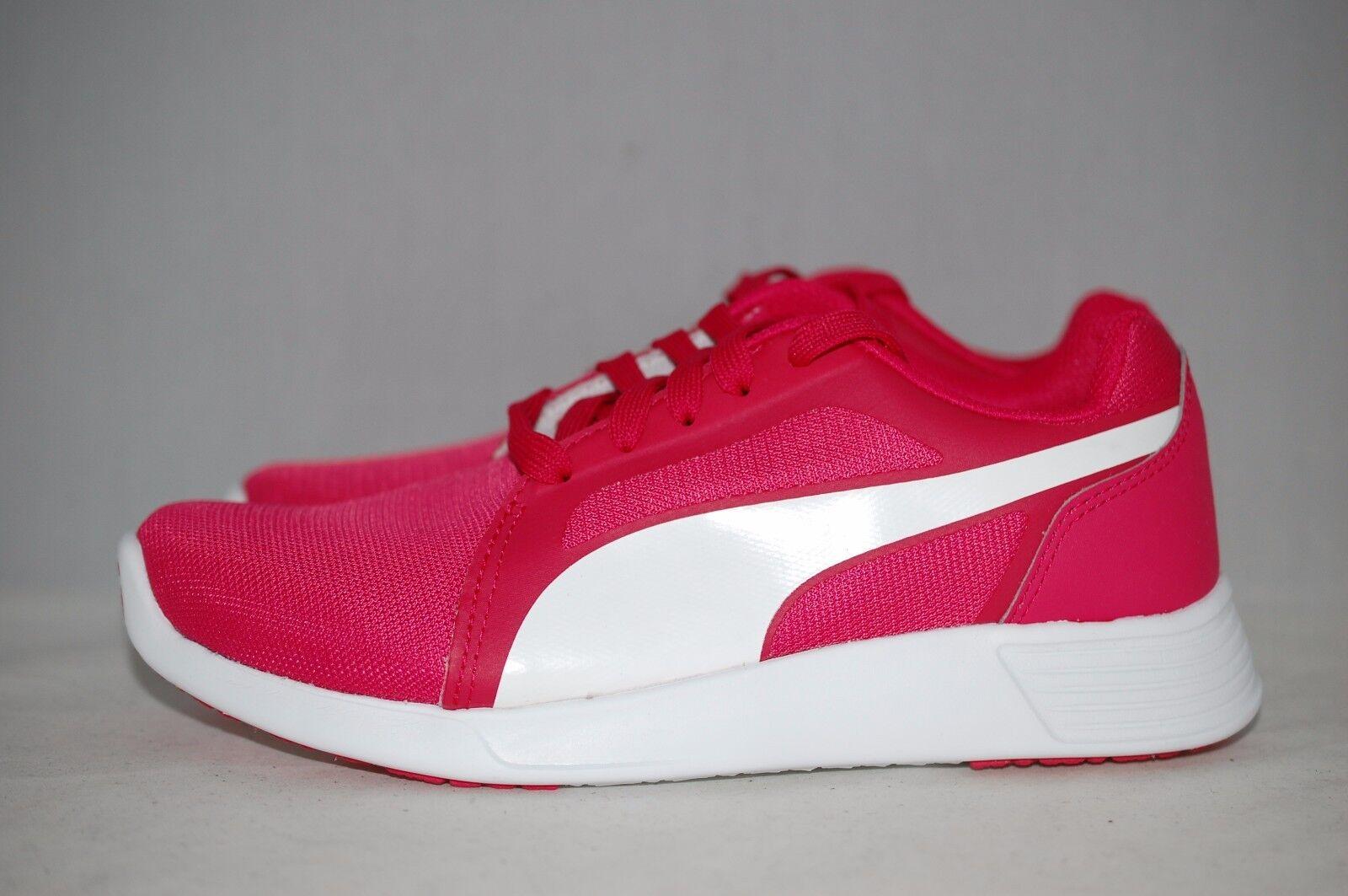 Puma st trainer evo rosa bianca in formazione da ginnastica scarpe 8 usa / ue / 5.5uk 38,5