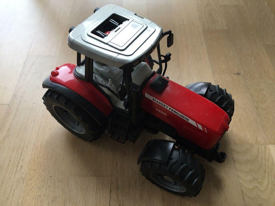 Lastbil, traktor, mejetærsker