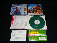 NEC PCE PC ENGINE Turbo Grafx Super CD ROM Fang of  Alnam Arunamu no kiba Game