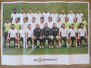 Affiche-a-partir-de-Hommes-Football-Equipe-Nationale-Allemagne
