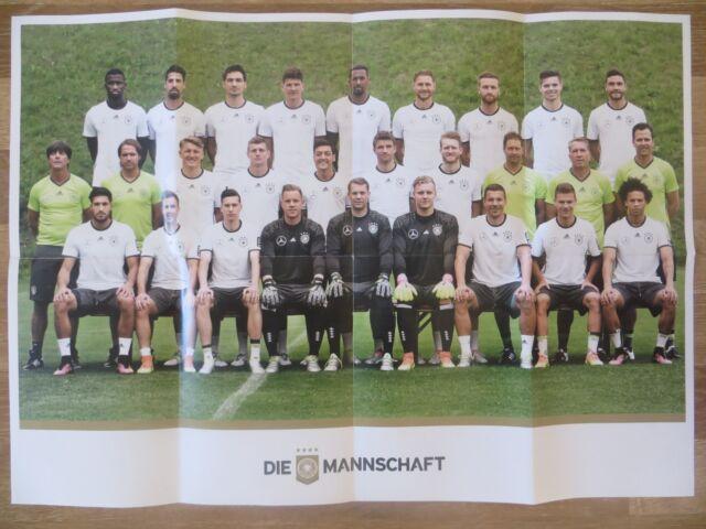 Affiche à partir de Hommes Football Équipe Nationale Allemagne