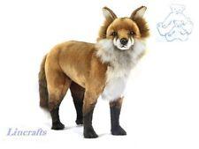 Standing Red Fox  Plush Soft Toy by Hansa. 7046