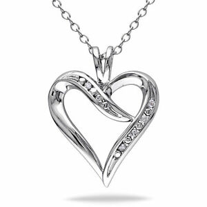 Amour-Sterling-Silver-Diamond-Heart-Pendant-Necklace