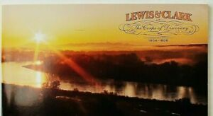 USA-2004-COMPLETE-BOOKLET-OF-20-MNH-STAMP-3856b-BICENTENNIAL-LEWIS-amp-CLARK