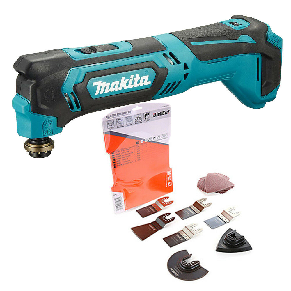 Makita TM30DZ CXT 10.8v Cordless Multi Tool With Extra 17 Pc Accessories