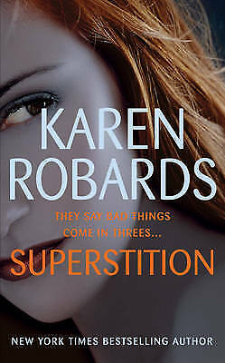 1 of 1 - Superstition by Karen Robards (Paperback, 2006)