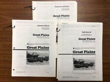 Great Plains Nta3010 3510 No Till Air Drill Predelivery Operator Amp Parts Manual