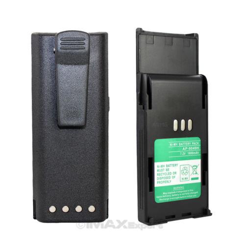 2 x 1.8AH HNN9049A Battery for MOTOROLA Radius P1225 LS