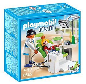 Playmobil-City-Life-6662-Dentista-con-paciente-De-4-a-10-anos