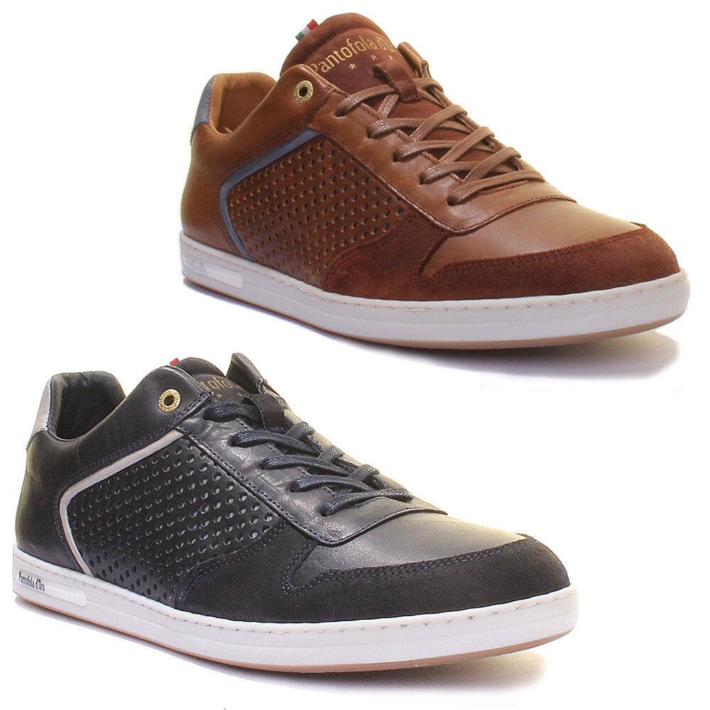 Pantofola D'Oro Auronzo Herren Leder Matt Sneakers