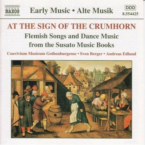Sven Berger / Conviv - At the Sign of the Crumhorn [Early Music] [New CD]