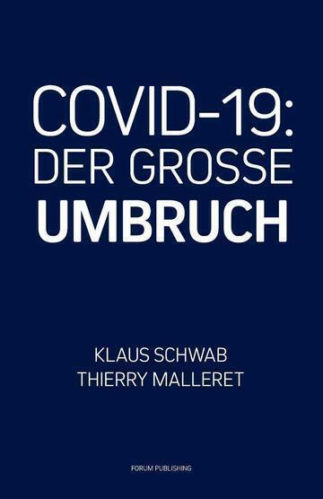 🔥Klaus Schwab DER GROSSE UMBRUCH the Great Reset Deutsch CVID 19 Taschenbuch🔥