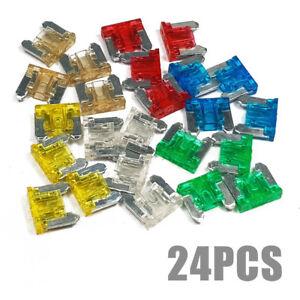 24pcs-Micro-Mini-Blade-Fuses-Assorted-Kit-Set-Car-Auto-Truck-SUV-Low-Profile-APS