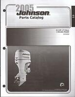 2005 Johnson Outboard Motor 3.5 Hp 2 Stroke Parts Manual (580)
