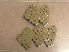 LEGO 30505 CORNER BRICK 3x3 REDDISH BROWN QTY x 6 BRAND NEW PART