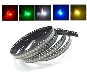 NEW-1206-SMD-SMT-LED-Red-Green-Blue-Yellow-White-5Colours-Light-Super-Bright-LED