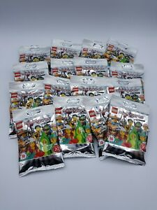 LEGO-SERIE-COMPLETE-16-FIGURINES-SERIE-20-REF-71027-SACHETS-OUVERTS