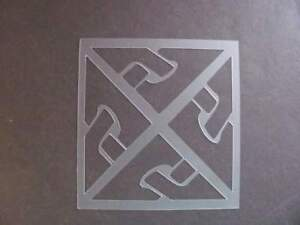 STENCIL #503 Celtic Knot New