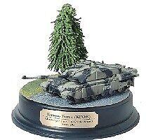 Kfor Challenger 2 With Up-grade Armor Scots Dg Tank 1 72 Plastic Model Kit