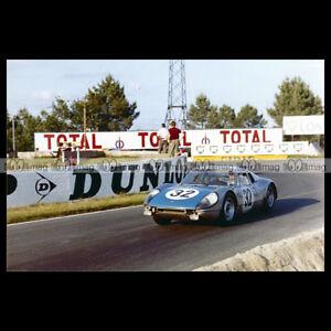 pha-018253-Photo-PORSCHE-904-GTS-DEWES-KERGUEN-24-HEURES-DU-MANS-1964-Car-Auto